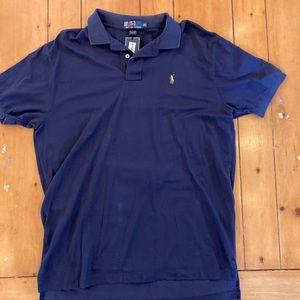 NWT Polo Ralph Lauren navy polo shirt